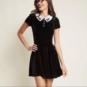 FINAL PRICE NWT! Hell Bunny Velvet Dress